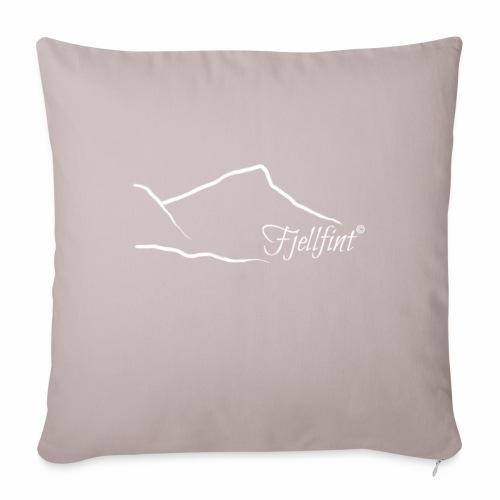 Fjellfint m/hvit logo - Sofaputetrekk 45 x 45 cm