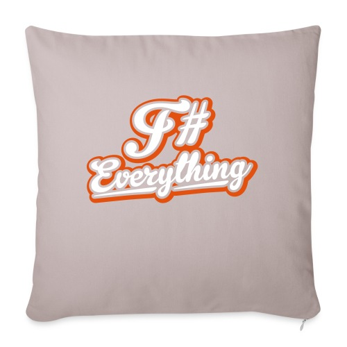 F# Everything - Sofa pillowcase 17,3'' x 17,3'' (45 x 45 cm)
