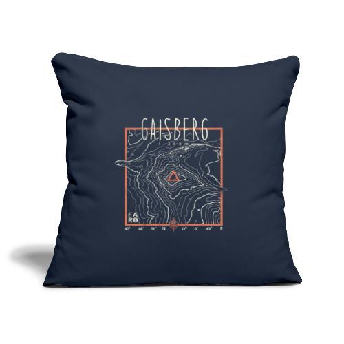 Gaisberg Countour Lines - Sofa pillowcase 17,3'' x 17,3'' (45 x 45 cm)