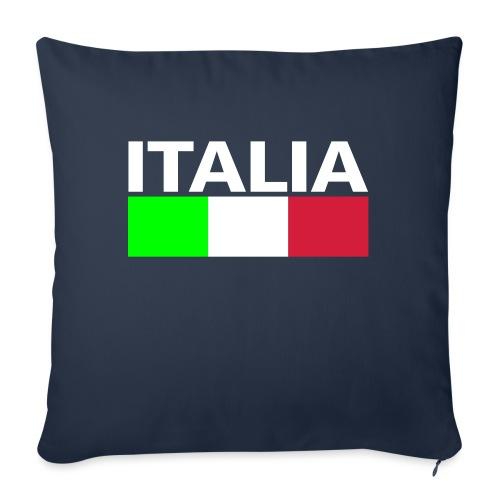 Italia Italy flag - Sofa pillowcase 17,3'' x 17,3'' (45 x 45 cm)