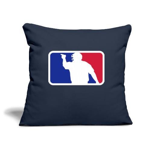 Baseball Umpire Logo - Sofa pillowcase 17,3'' x 17,3'' (45 x 45 cm)