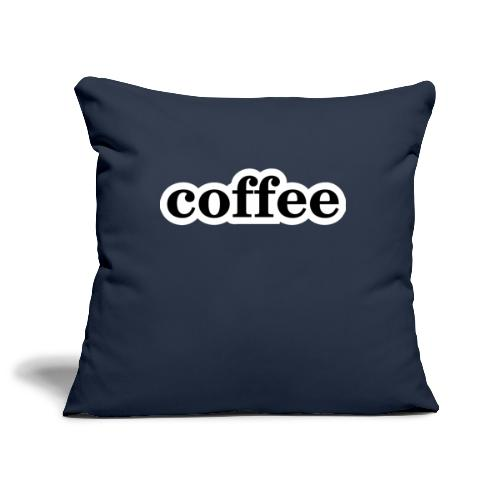 Kaffee - Sofakissenbezug 44 x 44 cm