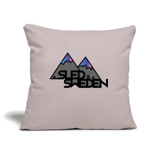 SledSweden Official Logo Special Edition - Soffkuddsöverdrag, 45 x 45 cm