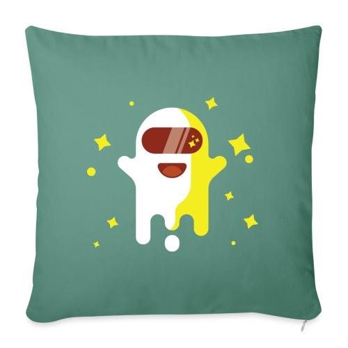 Fantôme astronaute - Housse de coussin décorative 45x 45cm