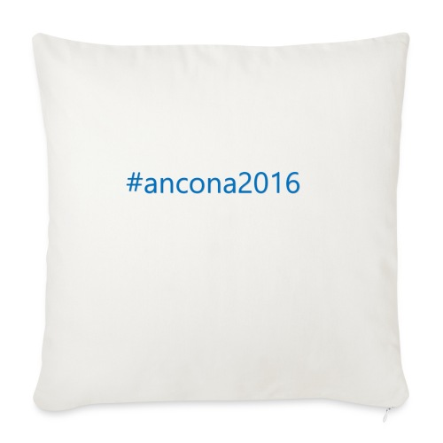 #ancona2016 - Funda de cojín, 45 x 45 cm