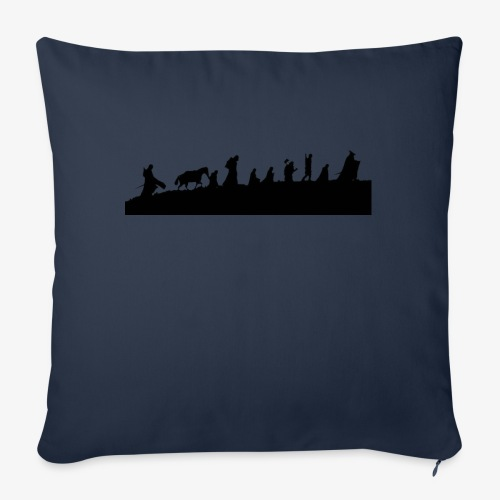 The Fellowship of the Ring - Sofa pillowcase 17,3'' x 17,3'' (45 x 45 cm)