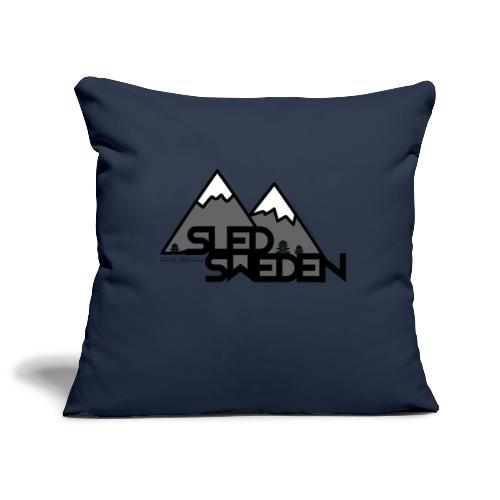 SledSweden Logo - Soffkuddsöverdrag, 45 x 45 cm