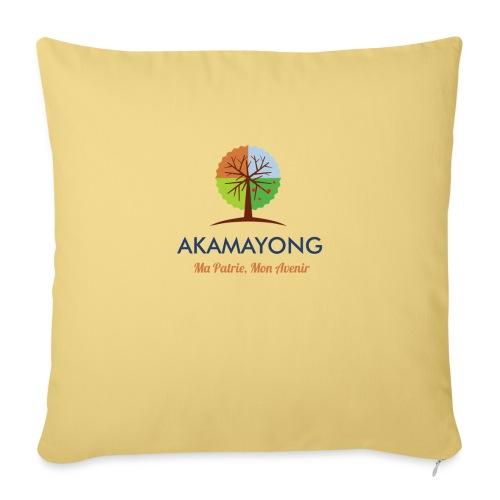 akamayong - Housse de coussin décorative 45x 45cm