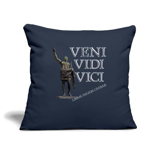 Giulio Cesare, veni vidi vici - Copricuscino per divano, 45 x 45 cm