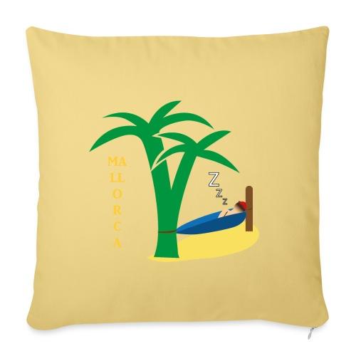 Mallorca - Urlaub unter Palmen - Sofakissenbezug 44 x 44 cm