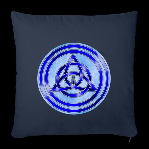 Awen Triqueta Circle - Sofa pillowcase 17,3'' x 17,3'' (45 x 45 cm)