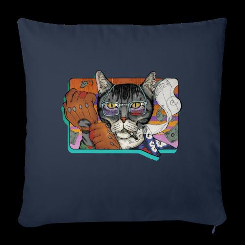 Crime Cat - Poszewka na poduszkę 45 x 45 cm