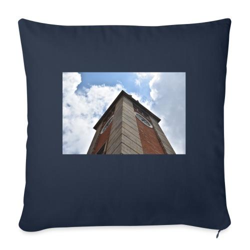 torre dell'orologio - Copricuscino per divano, 45 x 45 cm