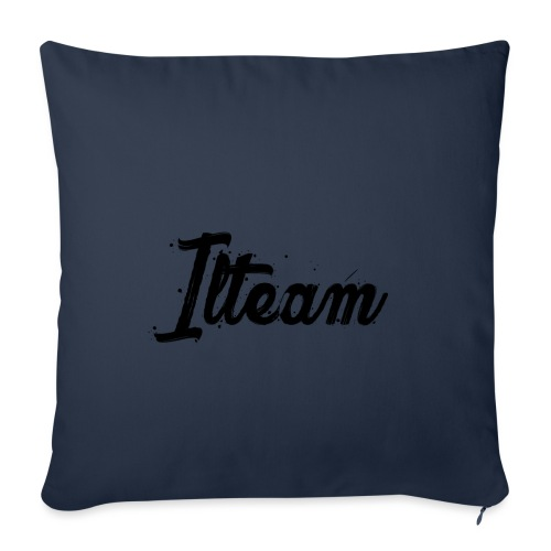 Ilteam Black and White - Housse de coussin décorative 45 x 45 cm