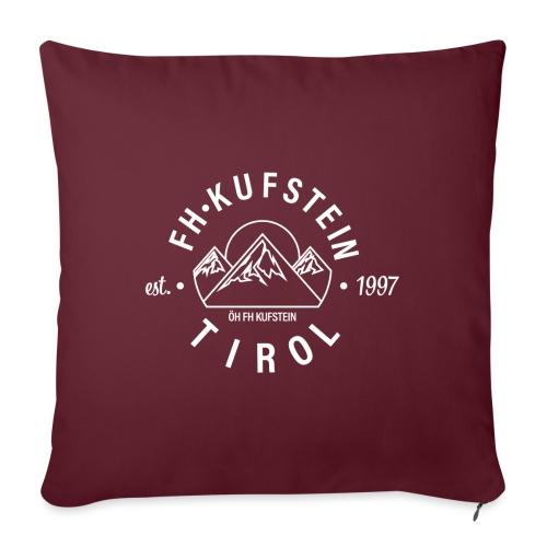 FH Kufstein Tirol - Sofakissenbezug 44 x 44 cm