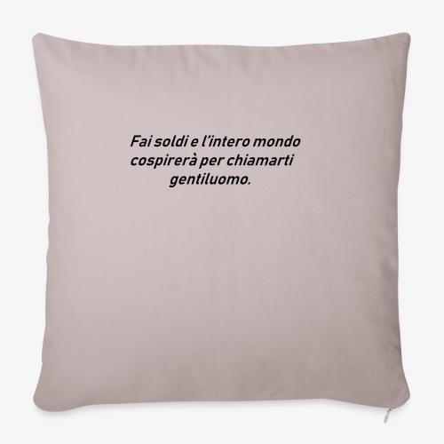 RICCHEZZA - Copricuscino per divano, 45 x 45 cm