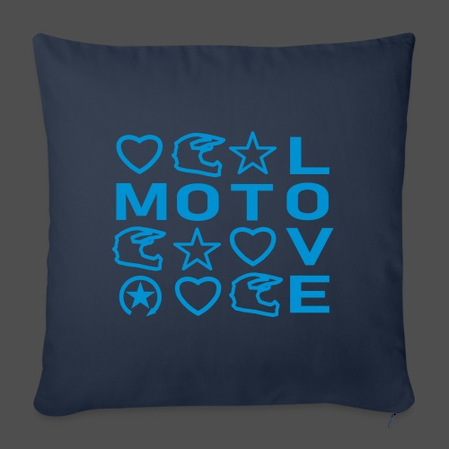 MOTO LOVE - Sofakissenbezug 44 x 44 cm