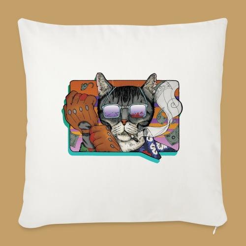 Crime Cat in Shades - Poszewka na poduszkę 45 x 45 cm