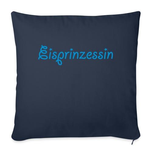 Eisprinzessin, Ski Shirt, T-Shirt für Apres Ski - Sofakissenbezug 44 x 44 cm