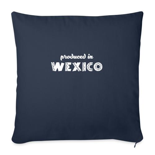 Wexico White - Sofa pillowcase 17,3'' x 17,3'' (45 x 45 cm)