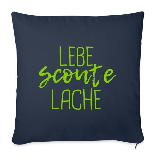 Lebe Scoute Lache Lettering Brush - Farbe wählbar - Sofakissenbezug 44 x 44 cm