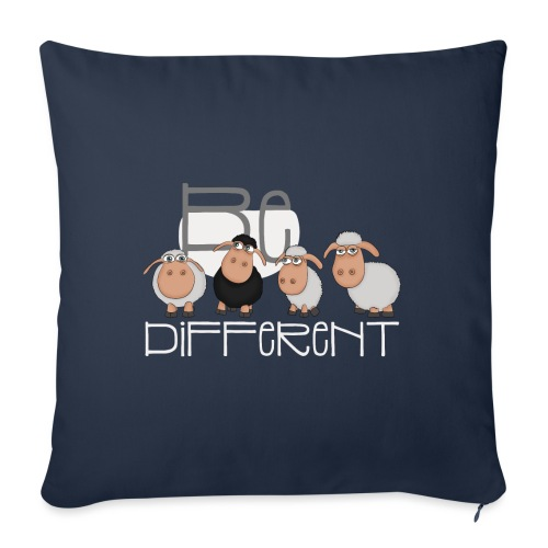 Cool Be Different Sheep Gang - Good Mood Sheep - Sofa pillowcase 17,3'' x 17,3'' (45 x 45 cm)