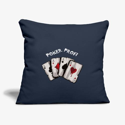 Pokerprofi TEXAS HOLDEM - Sofakissenbezug 44 x 44 cm
