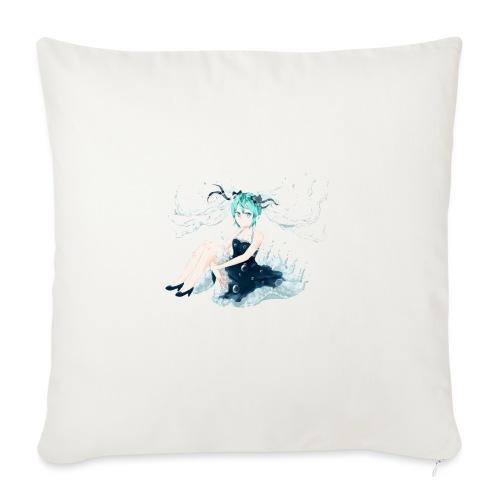 Water Miku O.C. - Copricuscino per divano, 45 x 45 cm