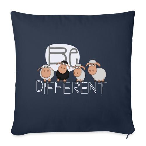 Be different Shirt: Einzigartige Schafe - Sofakissenbezug 44 x 44 cm
