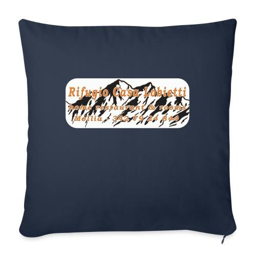 Rifugio Casa Lobietti - Copricuscino per divano, 45 x 45 cm