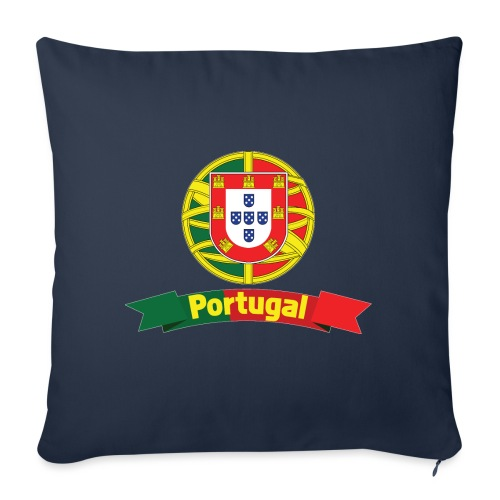 Portugal Campeão Europeu Camisolas de Futebol - Sofa pillowcase 17,3'' x 17,3'' (45 x 45 cm)