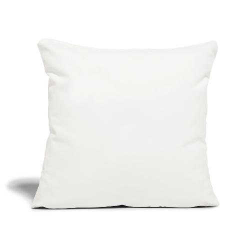 Peuf Land 05 - Hautes-Alpes - White - Housse de coussin décorative 45x 45cm