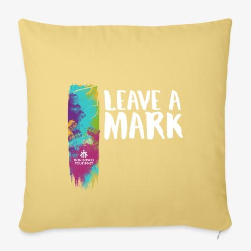 Leave a mark - Sofa pillowcase 17,3'' x 17,3'' (45 x 45 cm)