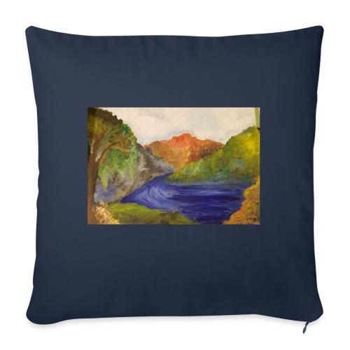 flo 1 - Sofa pillowcase 17,3'' x 17,3'' (45 x 45 cm)