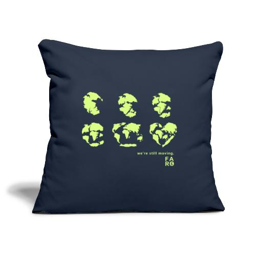 We're Still Moving - Continental Drift - Sofa pillowcase 17,3'' x 17,3'' (45 x 45 cm)