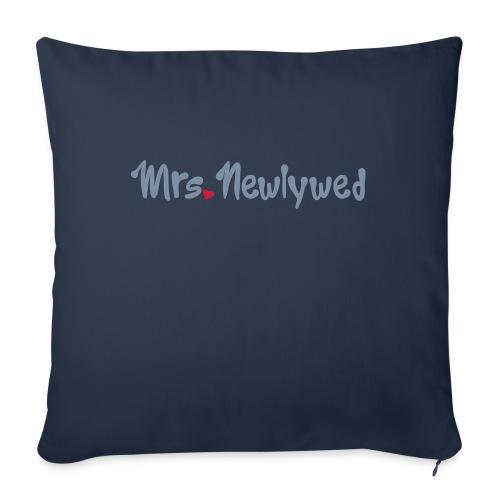 Mrs Newlywed - Sofa pillowcase 17,3'' x 17,3'' (45 x 45 cm)