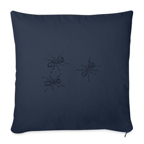 Ants - Sofa pillowcase 17,3'' x 17,3'' (45 x 45 cm)