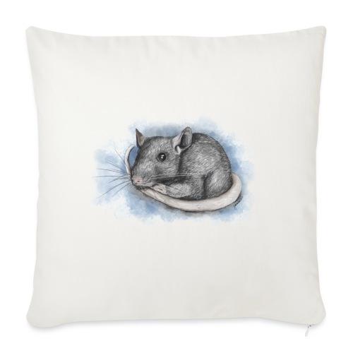 Rottapiirros - Värikuva - Sohvatyynyn päällinen 45 x 45 cm