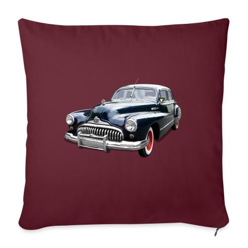 Classic Car. Buick zwart. - Sierkussenhoes, 45 x 45 cm