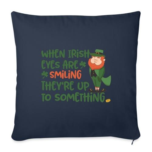 Irish eyes shine - Irish leprechaun - Sofa pillowcase 17,3'' x 17,3'' (45 x 45 cm)