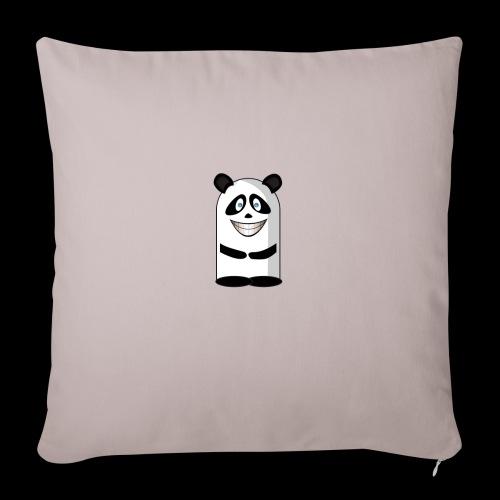Mascotte panda gêné - Housse de coussin décorative 45x 45cm