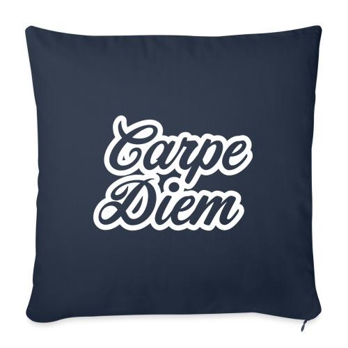 Carpe Diem - Chwytaj dzień - Poszewka na poduszkę 45 x 45 cm