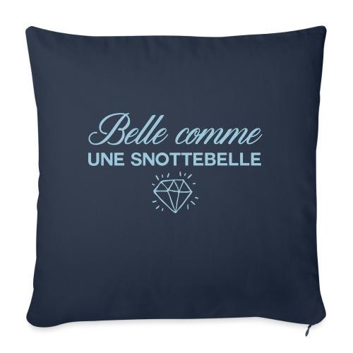 Belle comme snottebelle - Housse de coussin décorative 45x 45cm