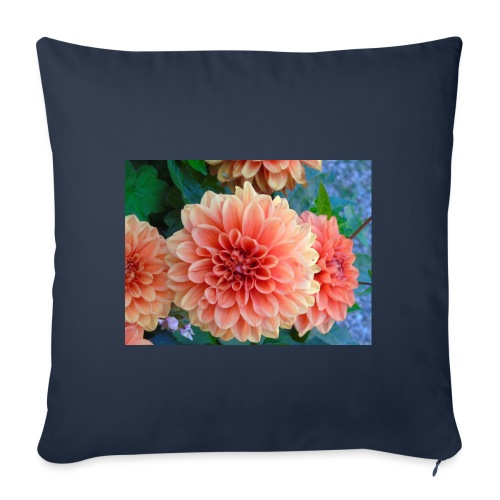 A chrysanthemum - Sofa pillowcase 17,3'' x 17,3'' (45 x 45 cm)