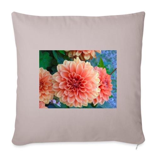 A chrysanthemum - Sofa pillowcase 17,3'' x 17,3'' (45 x 45 cm)