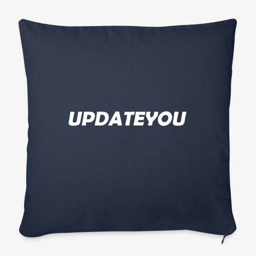 Updateyou - Copricuscino per divano, 45 x 45 cm