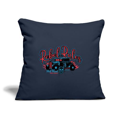 Hot Rod - Rebel Rules - Copricuscino per divano, 45 x 45 cm