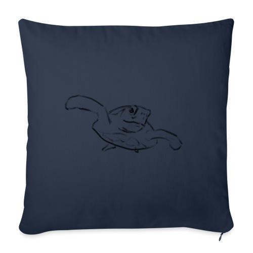 Turtle - Sofa pillowcase 17,3'' x 17,3'' (45 x 45 cm)