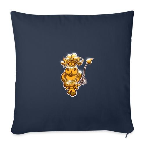 Goldene Gangster Kuh / Gold Thug Cow - Sofakissenbezug 44 x 44 cm