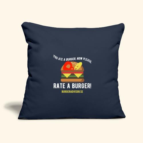 You ate a burger edition - Sofa pillowcase 17,3'' x 17,3'' (45 x 45 cm)
